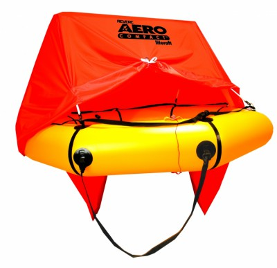 AERO COMPACT 2 MAN LIFERAFT WITH CANOPY