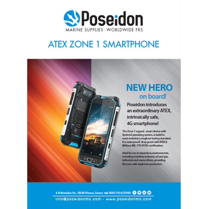 ATEX ZONE 1 Smartphone
