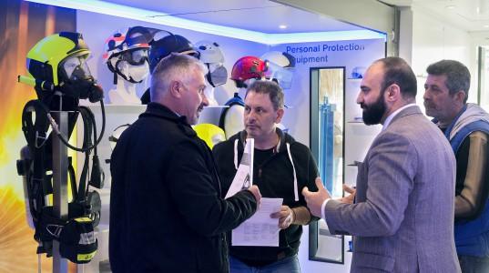 Ενημέρωση και εκπαίδευση στην ασφάλεια με το Dräger Safety Roadshow.