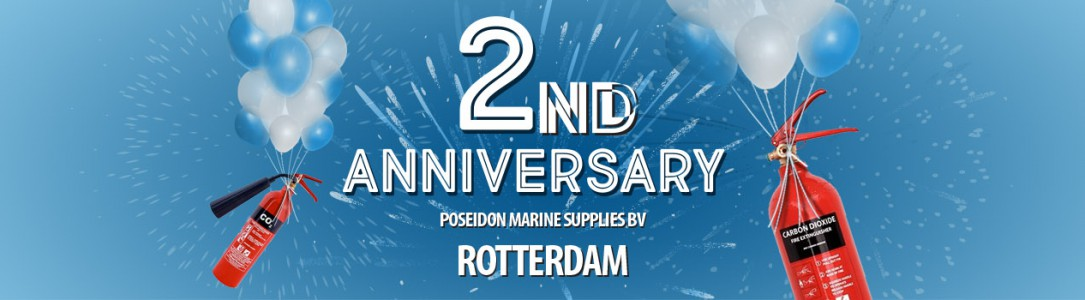 Poseidon Marine Supplies BV turns 2!