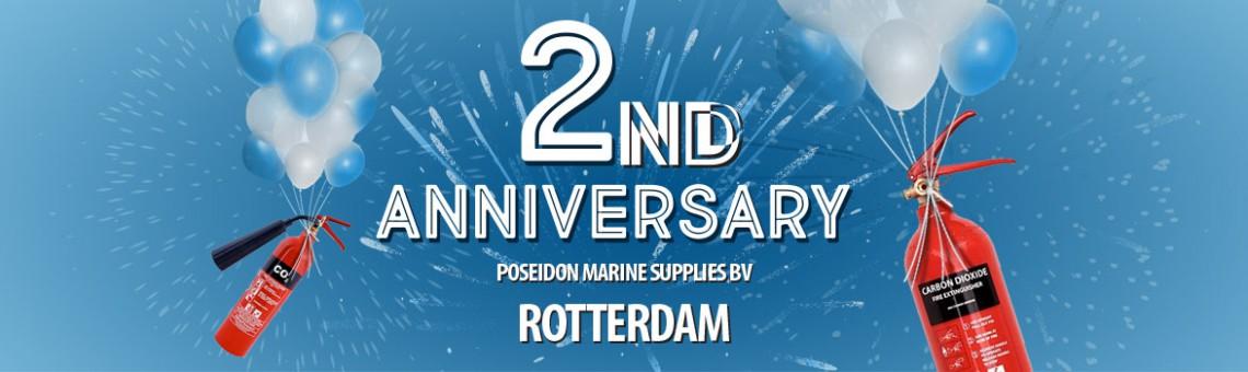 Poseidon Marine Supplies BV turns 2!