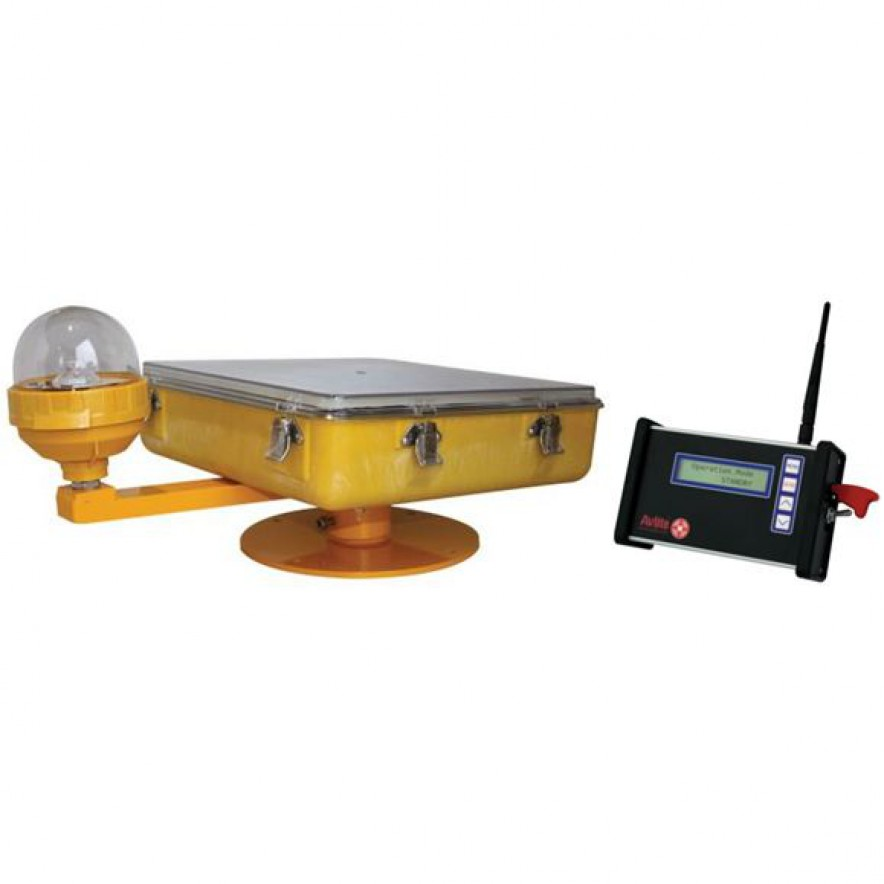 Radio Controlled Solar TLOF & FATO Perimeter Lighting (ICAO)