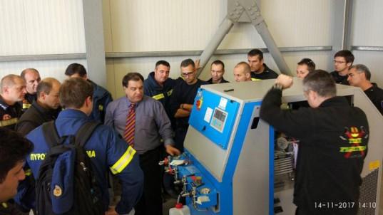 Τριημερο εκπαιδευσης νεου εξοπλισμου στον Αυτοκινητοδρομο Αιγαιου