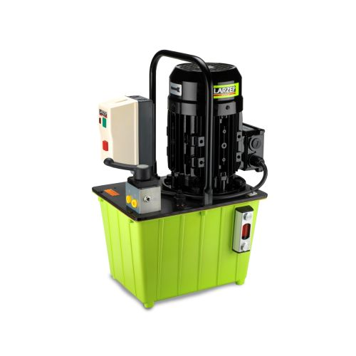 HBM Hydraulic powerpack with manual valve