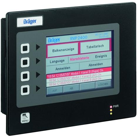Dräger RVP 2400 Visualisation Panel